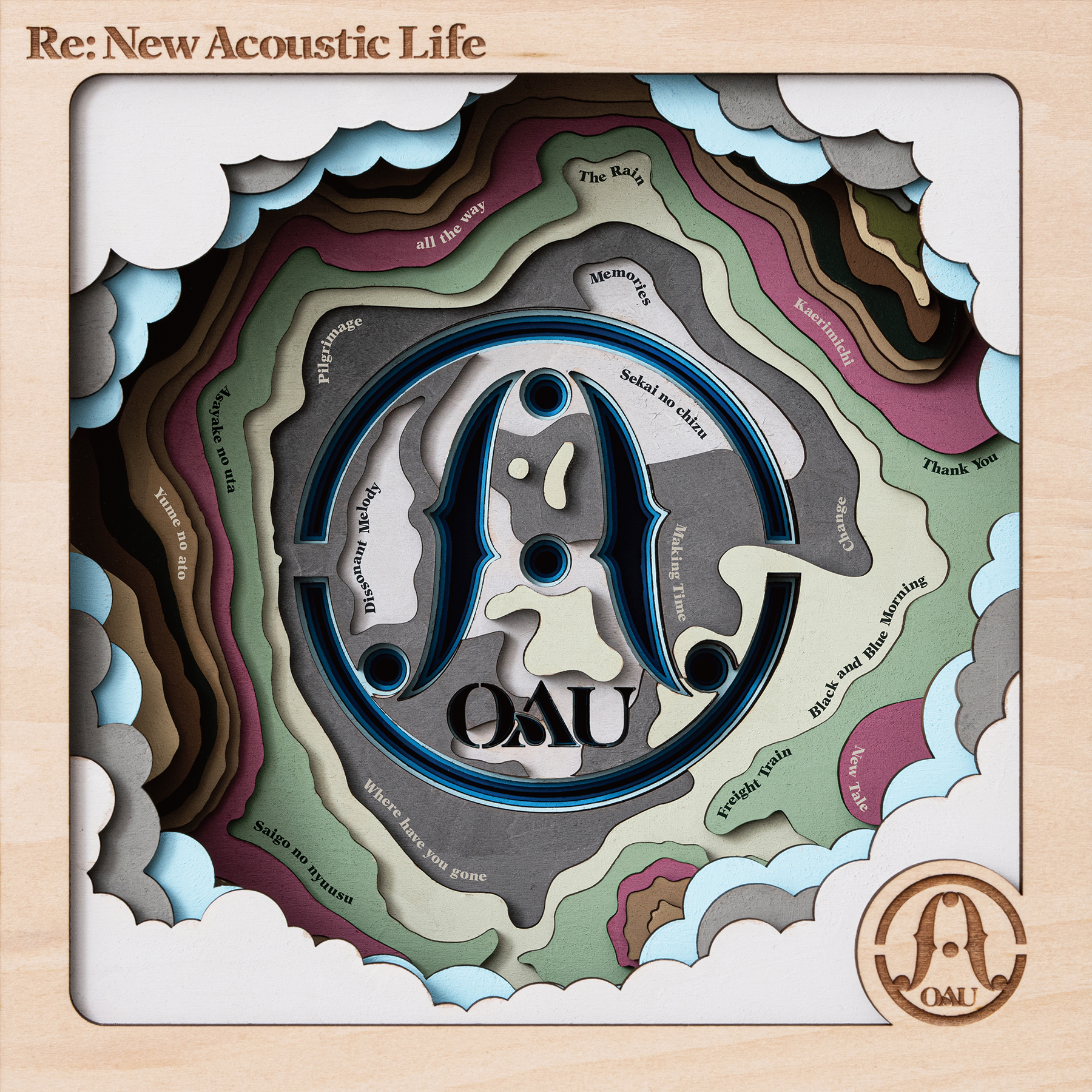 OAU All Time Best Album 『Re:New Acoustic Life (リニュー・アコースティック・ライフ)』