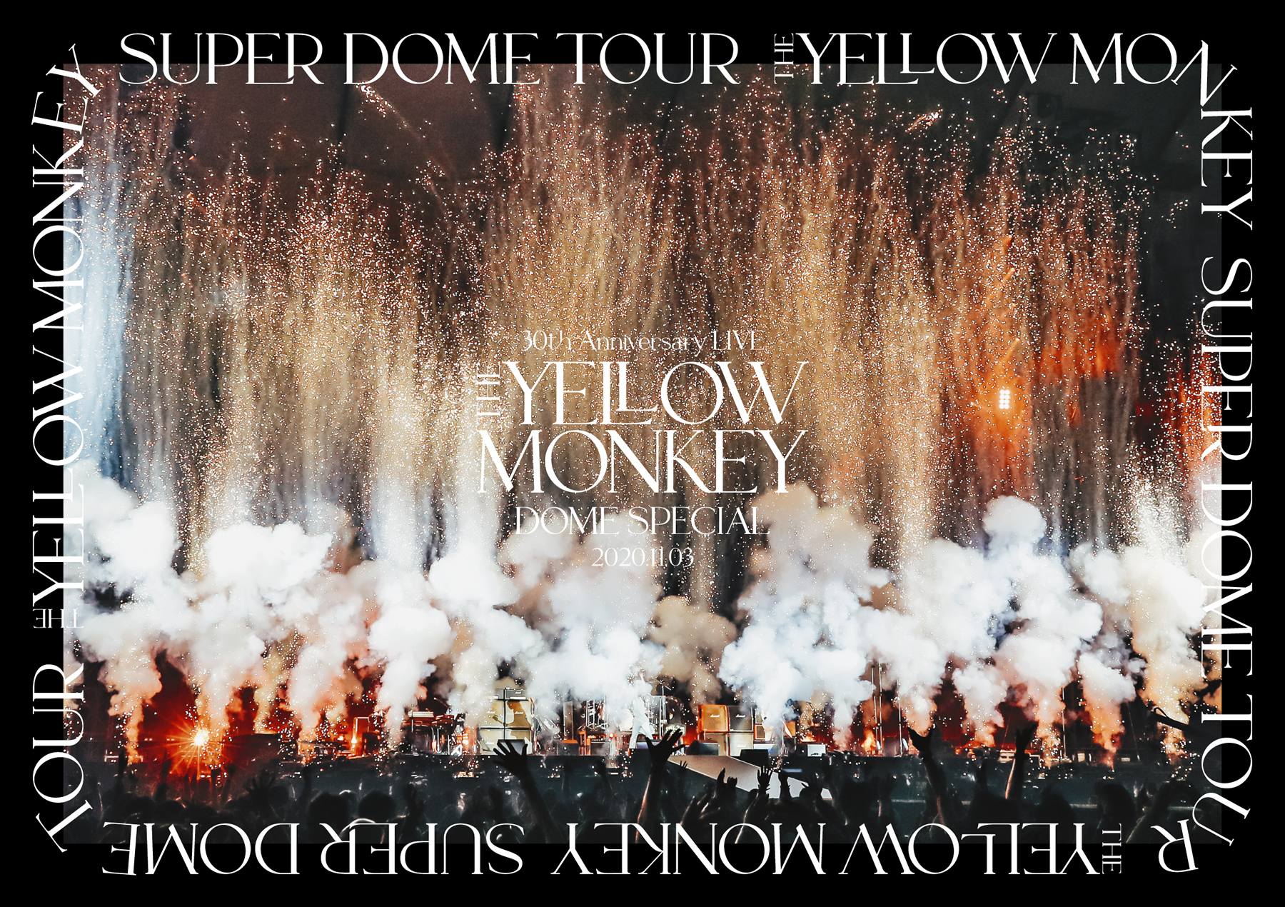 『THE YELLOW MONKEY 30th Anniversary LIVE -DOME SPECIAL- 2020.11.3』DVD
