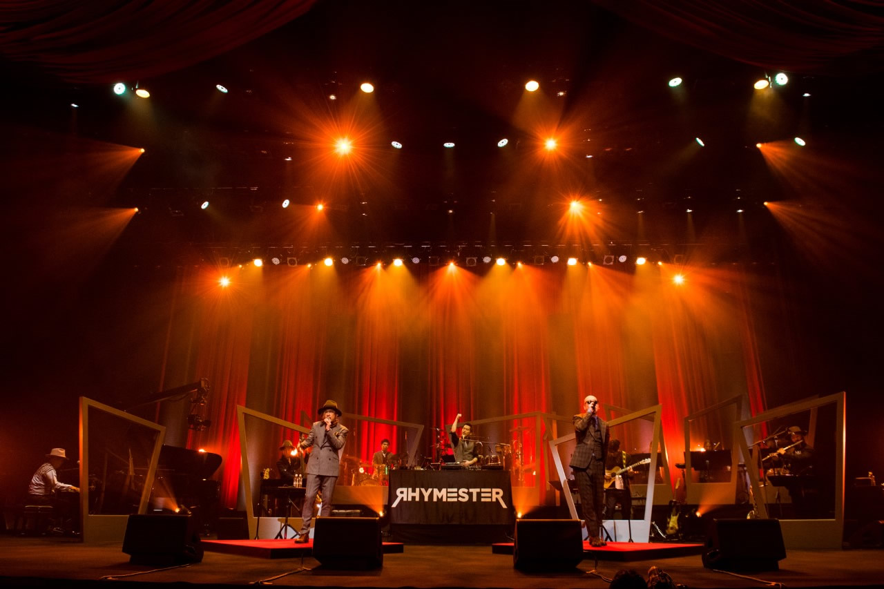 「MTV Unplugged: RHYMESTER」ライブ写真(Photo by cherry chill will)